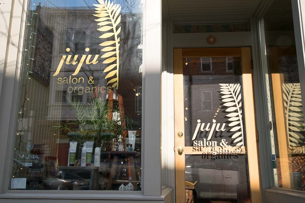 Contact juju salon for 4th street salon