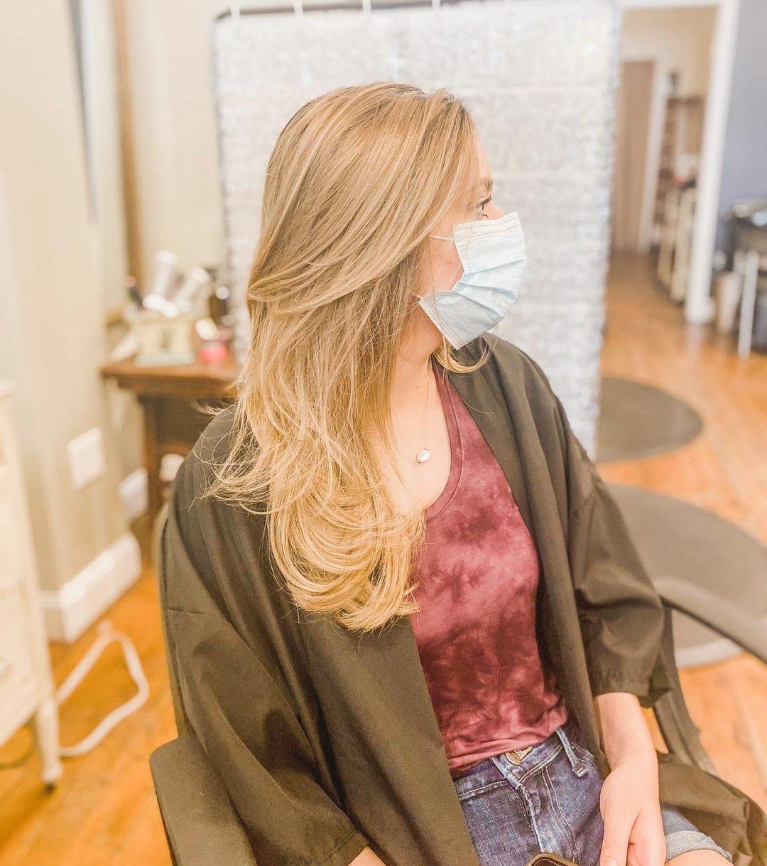 Long & Lovely cuts at Juju Salon in Philadelphia