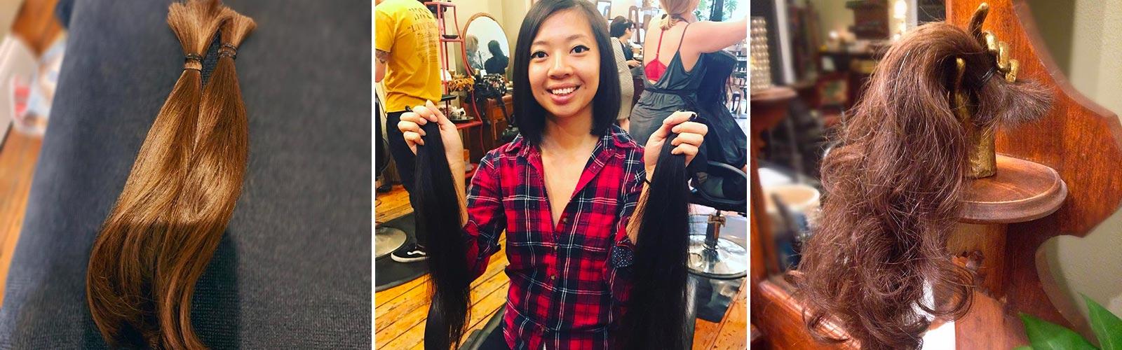 Donate your hair at Juju Salon